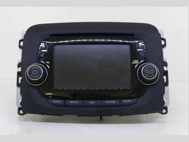 fiat 500 330 oem sat nav gps radio media uconnect tom tom. Black Bedroom Furniture Sets. Home Design Ideas